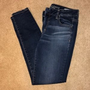 AE jeggings size 10